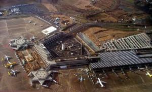 Vista aérea del Aeropuerto de Colonia/Bonn