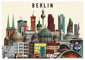 Ilustración de Berlín