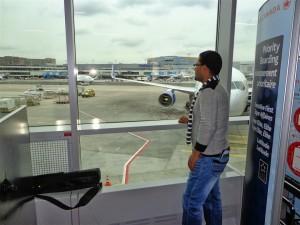 Frankfurt airport  باهر فوزى