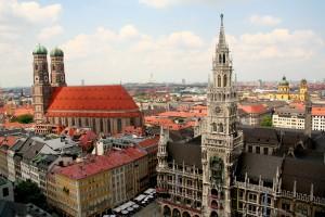 Frauenkirche y Nuevo Ayuntamiento