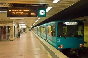 Metro U-Bahn Frankfurt