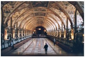 Interior de la Residencia de Múnich.