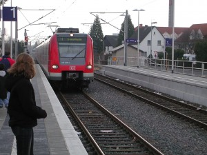 Tren S-Bahn Frankfurt