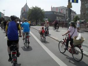 Alquiler de bicicletas en Colonia, Alemania.