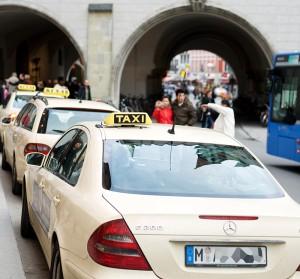 Taxis en Colonia, Alemania.