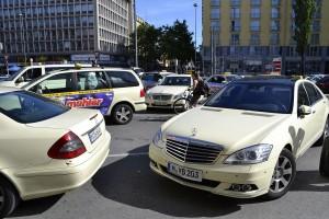 Servicio de taxi en Múnich.