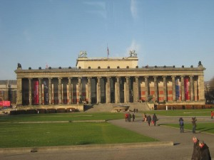 Front View of Altes Museum