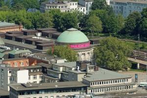 Kunsthalle (Galería de arte) de Hamburgo.