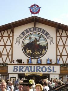 Carpa Braurosl, Oktoberfest