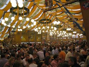 Carpa Braurosl por dentro, Oktoberfest