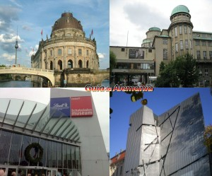 Collage Museos de Alemania