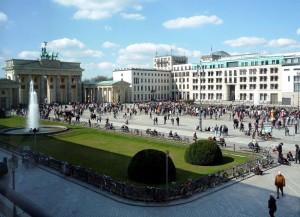Pariser Platz (Plaza de París), Berlín