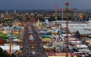 Theresienwiese, lugar de celebración del Oktoberfest en Múnich.