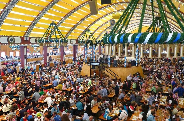 Celebración del Oktoberfest.