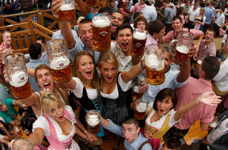Celebraciones durante el Oktoberfest