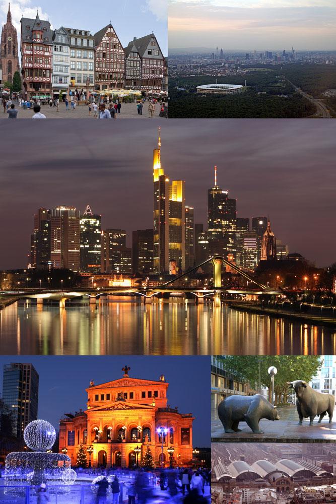 Frankfurt (Fráncfort del Meno) - Guia de Alemania