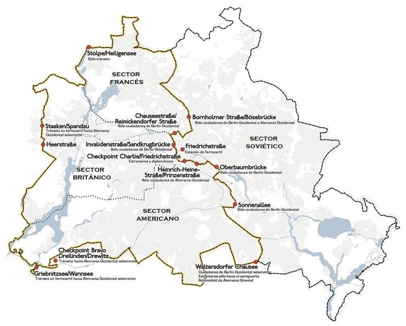 Muro de Berln  Guia de Alemania