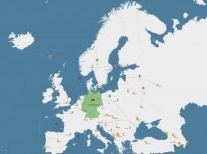 mapa de alemania fotos