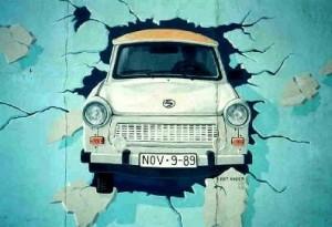 Grafitti representativo Muro de Berlin