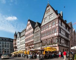 En Römenberg se dieron las primeras ferias de Frankfurt.