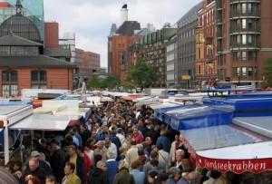 Fischmarkt de Hamburgo