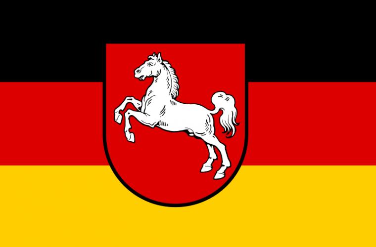 Bandera de Baja Sajonia