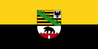 Bandera de Sajonia-Anhalt