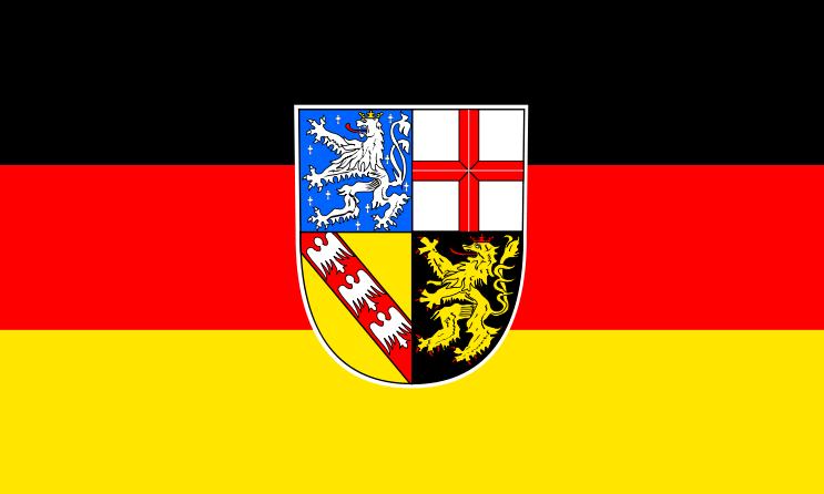 Bandera de Sarre
