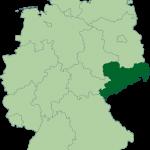 Mapa de Sajonia