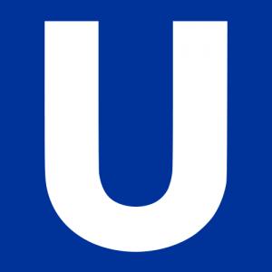 Logotipo distintivo del U-Bahn