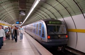 Metro de Múnich (U-Bahn)