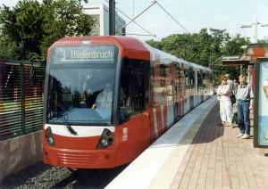 Stadtbahn en Colonia
