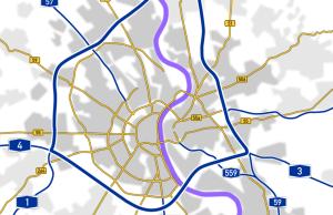 Carreteras en Colonia