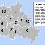 Mapa de los Distritos de Berlín