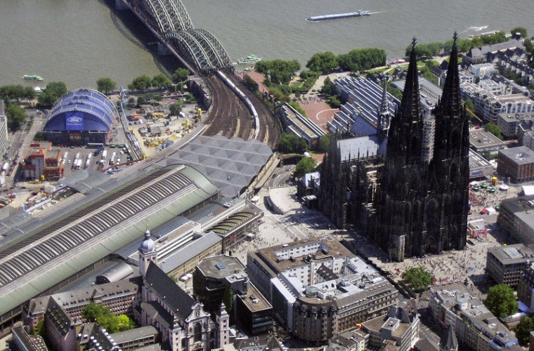 Vista aérea de Colonia