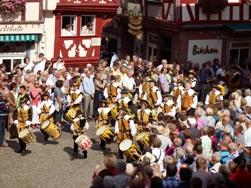 Fiestas del vino en Alemania