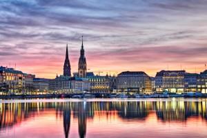 Hamburgo en otoño