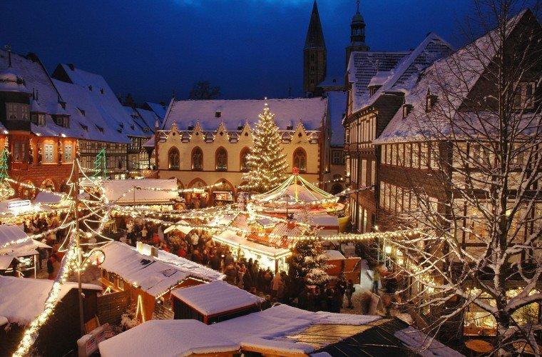 Mercadillo navideño en Alemania