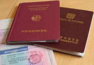 Pasaporte vigente para Alemania