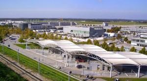 Vista panorámica, Aeropuerto de Munich