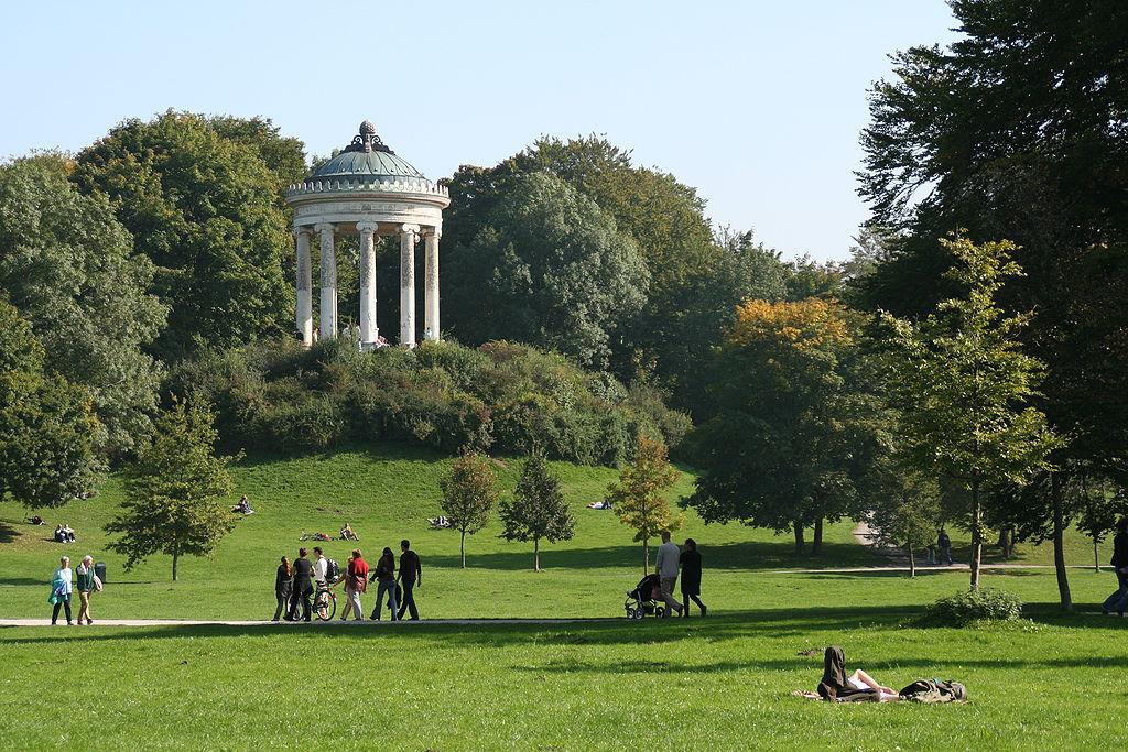 Englischer Garten (Jardín Inglés), Múnich - Guia de Alemania