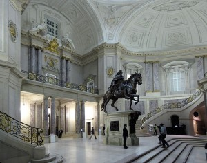 Museo Bode, interiores