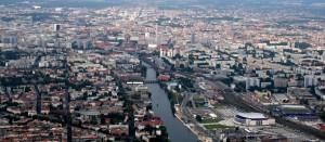 Vista aérea de Berlín