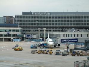 Cómo llegar a Frankfurt por aire
