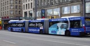 Autobuses en Hamburgo - Alemania