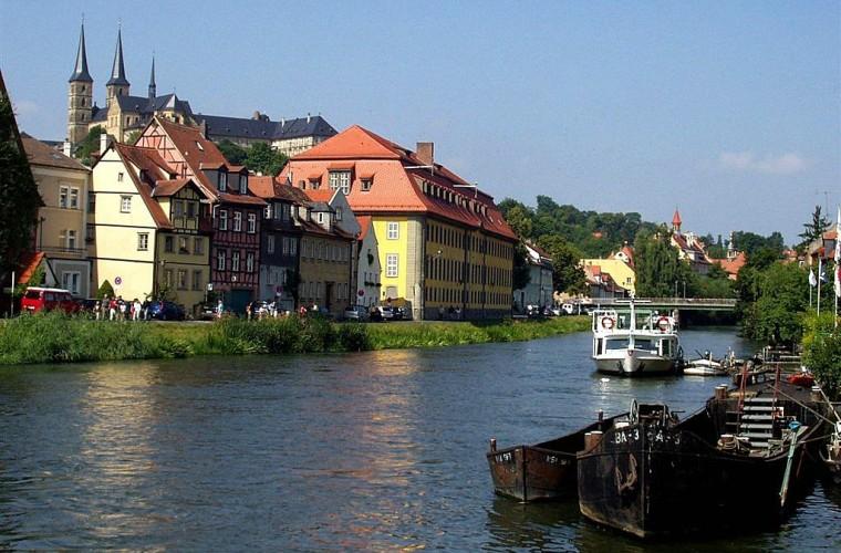 Vista panorámica de la ciudad de Bamberg