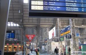 Cómo llegar a Frankfurt en tren