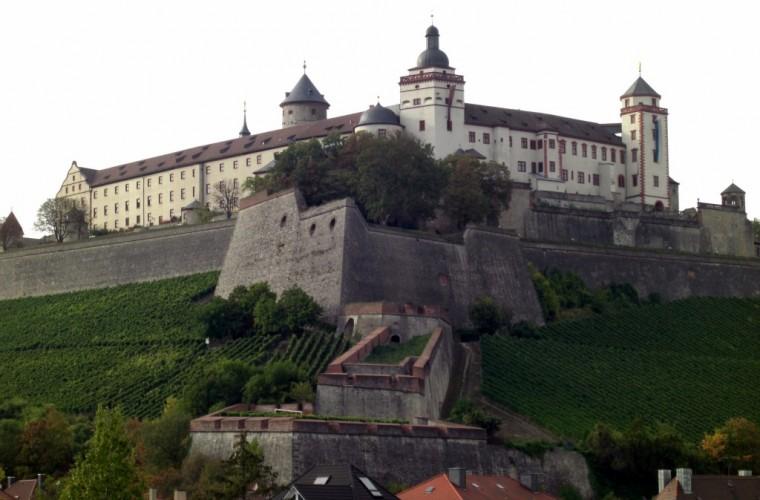 La Fortaleza de Marienberg en Wurzburgo