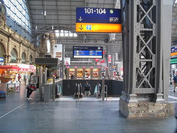 Viajar en tren desde Frankfurt a Múnich
