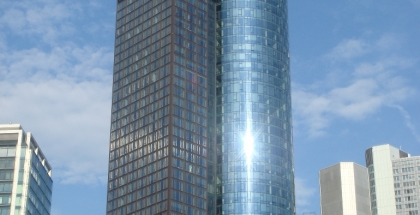 Main Tower-en Frankfurt Alemania